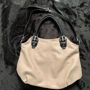 Kathy Ireland Vegan Leather Large Shoulder Bag